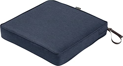 Classic Accessories Montlake Water-Resistant 17 x 17 x 3 Inch Patio Seat Cushion