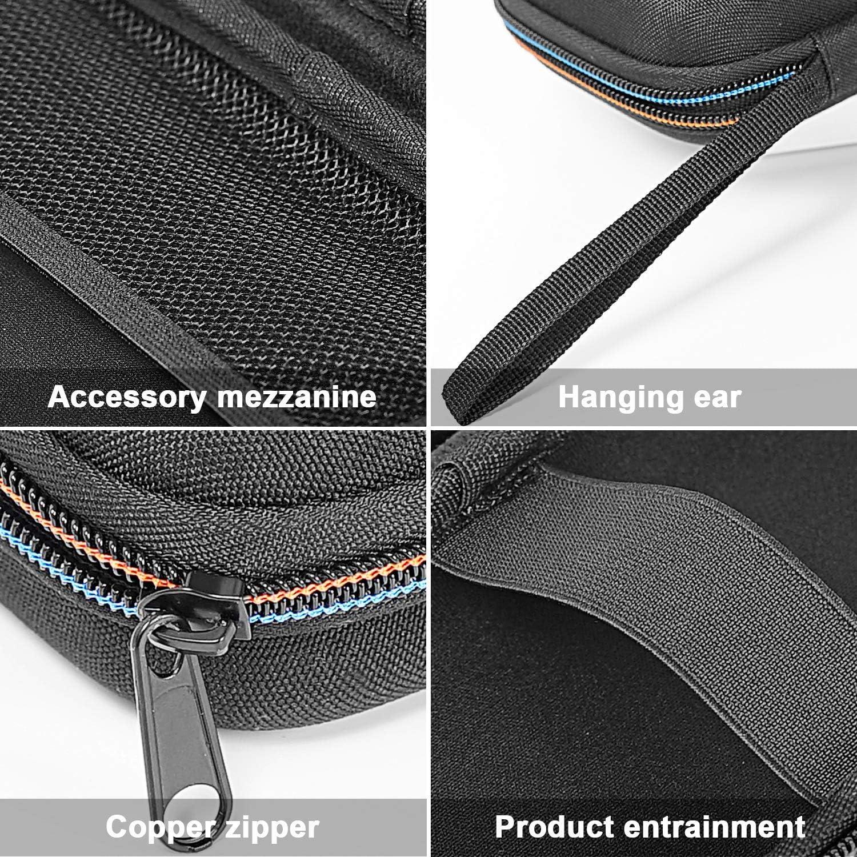 5.8cm Hard EVA Case for Anemometer Travel Protective Carrying Storage Bag for Anemometer//Tool//Multimeter//Lux Meter 18.8 10.9 Black