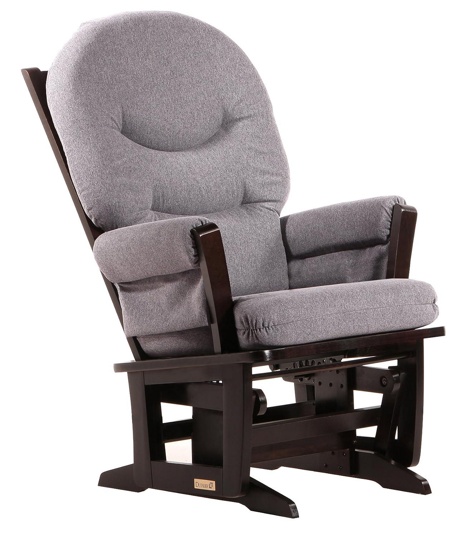 All products baby amp kids nursery furniture rocking chairs - Amazon Com Dutailier Round Back Cushion Modern Glider Beige Microfiber Baby