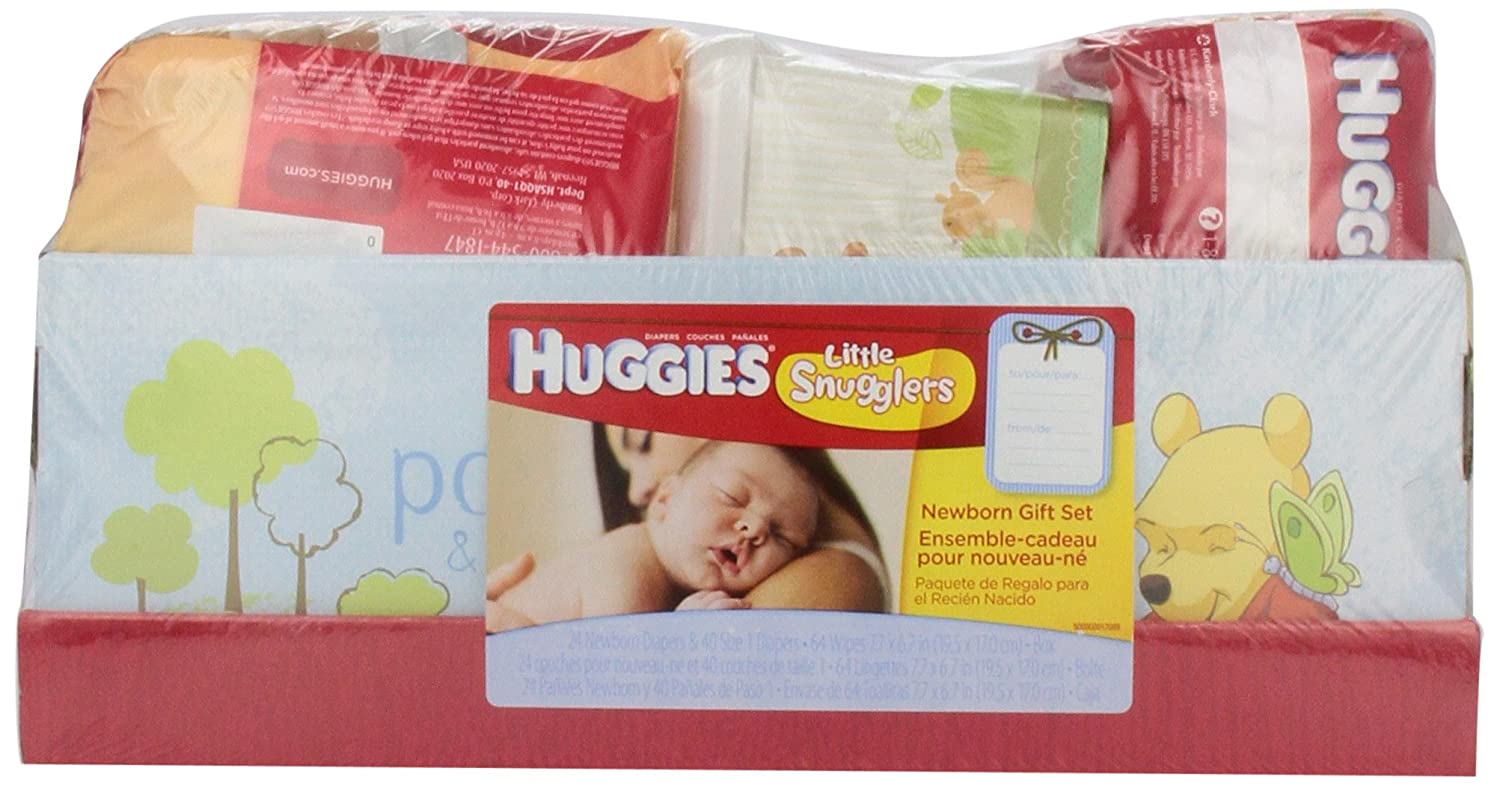 Amazon.com: Huggies Newborn Diapers & Wipes Gift Set: Health ...