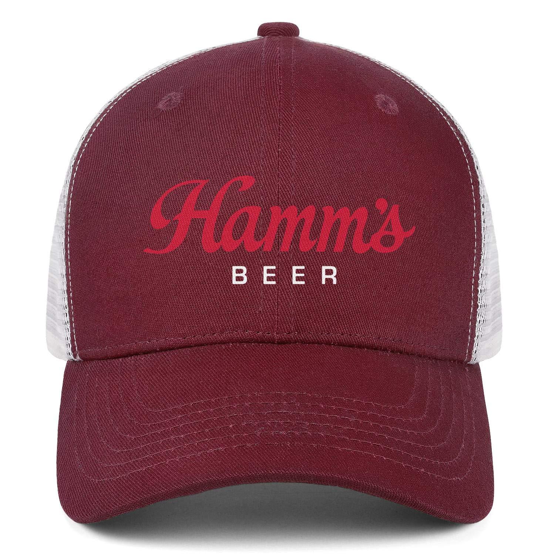 Hat Printed Cap Outdoor Caps Mens Women Hamms-Beer