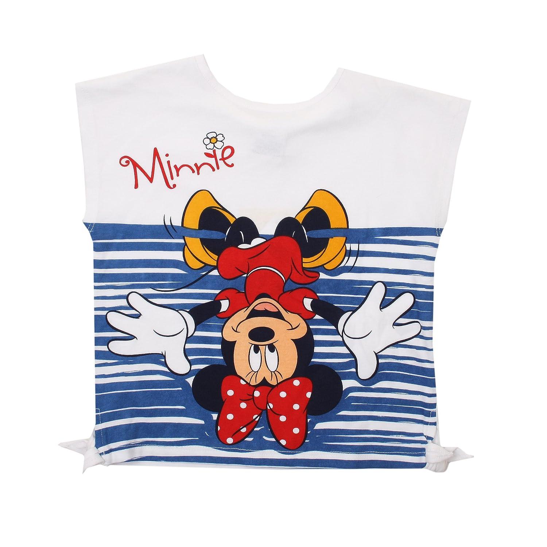 Disney Minnie Mouse-Upside Down-Kid T-White, Giacca Bambina RFKTS708