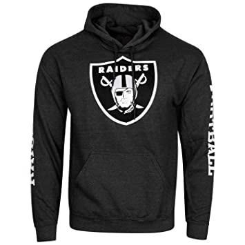 Majestic NFL Oakland Raiders Football Sudadera con Capucha Sudadera con Capucha suéter para Solid Enough: Amazon.es: Deportes y aire libre