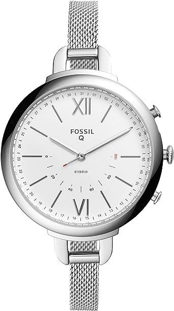 Smartwatch Híbrido Fossil Q Annette de Mujer, Caja de acero ...