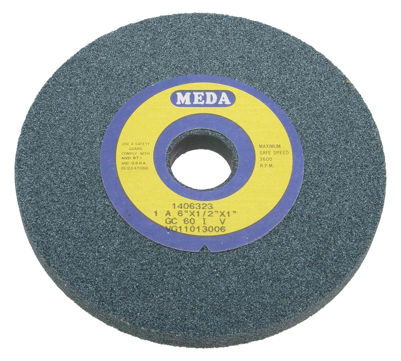 Meda 6 x 1 x 1 Fine 100 Grit Green Wheel