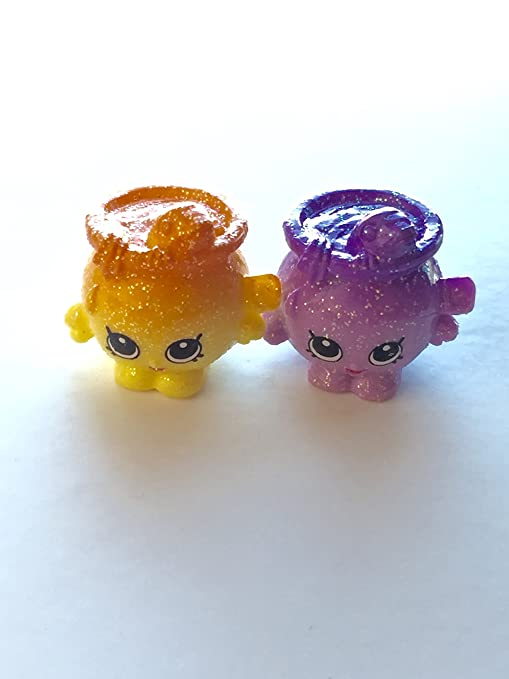 amazon com 2016 shopkins season 4 ultra rare shimmy petshop set of