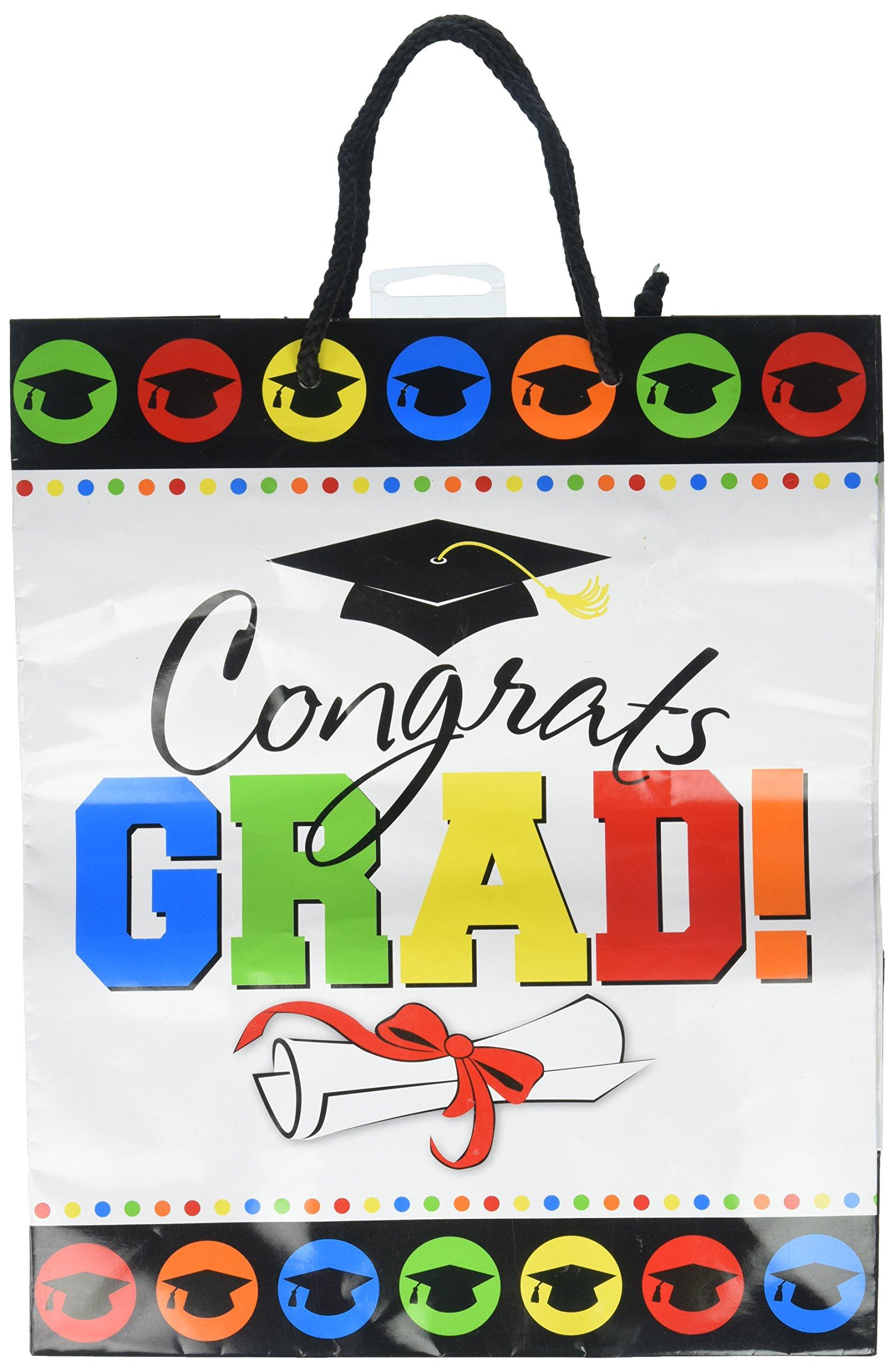 Colours Hats Banners Amscan Graduation Large Multi