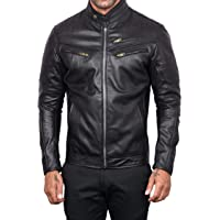 Posh Genuine Leather Jacket   Bikers Edition with Extra Padding On Elbows