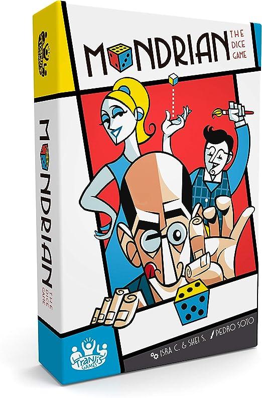 Tranjis Games - Mondrian - Juego de mesa (TRG-02mon): Amazon.es: Juguetes y juegos