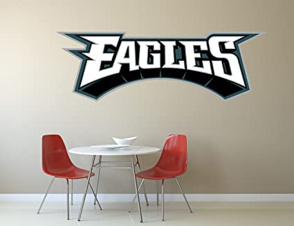 NFL logo decal Eagles NFL decal Eagles stickers Philadelphia Eagles large decal & Amazon.com: NFL logo decal Eagles NFL decal Eagles stickers ...
