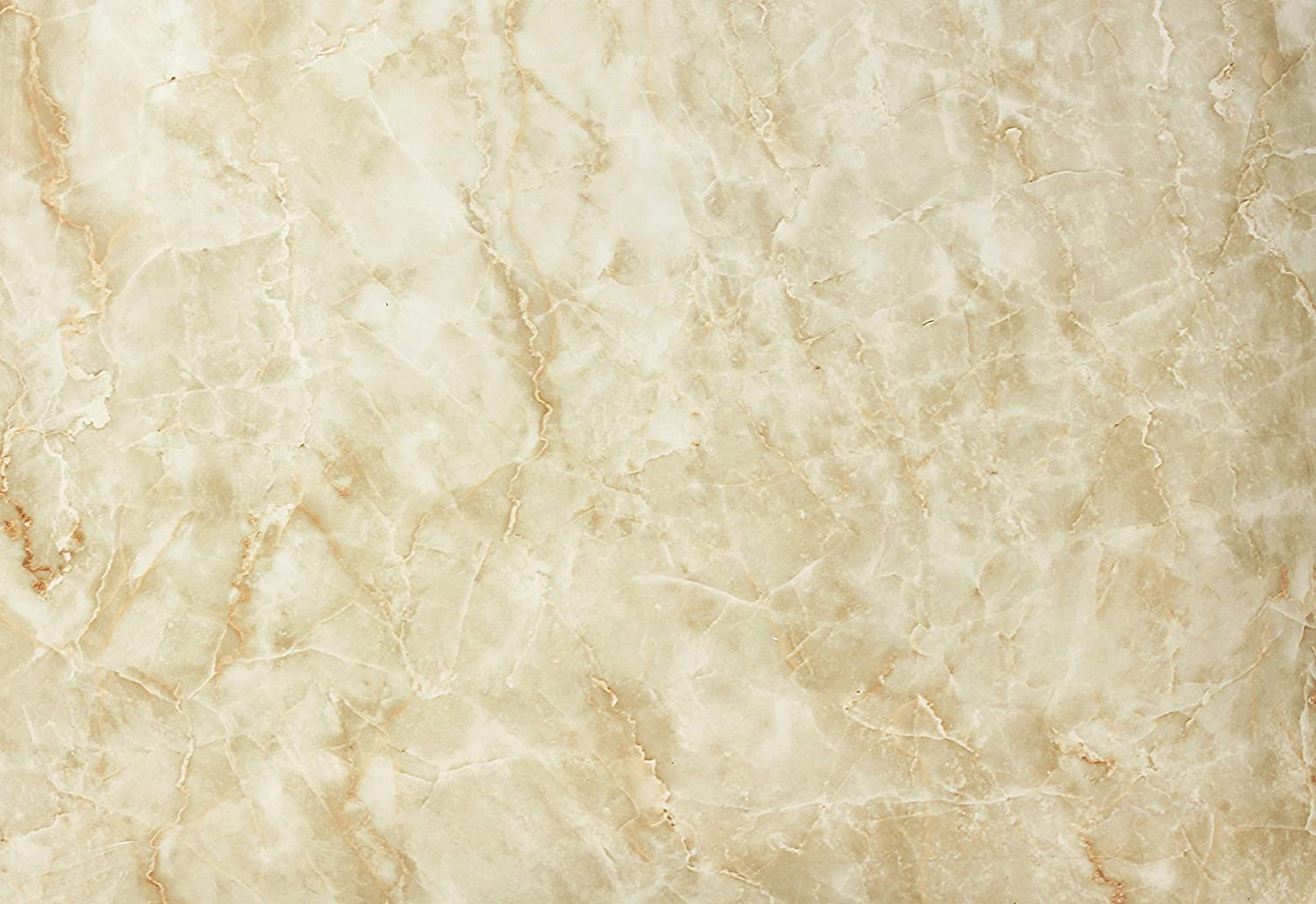 VViViD Gloss Crema Beige Marble Natural Texture Architectural Vinyl Film Roll 16 Inch x 6.5ft