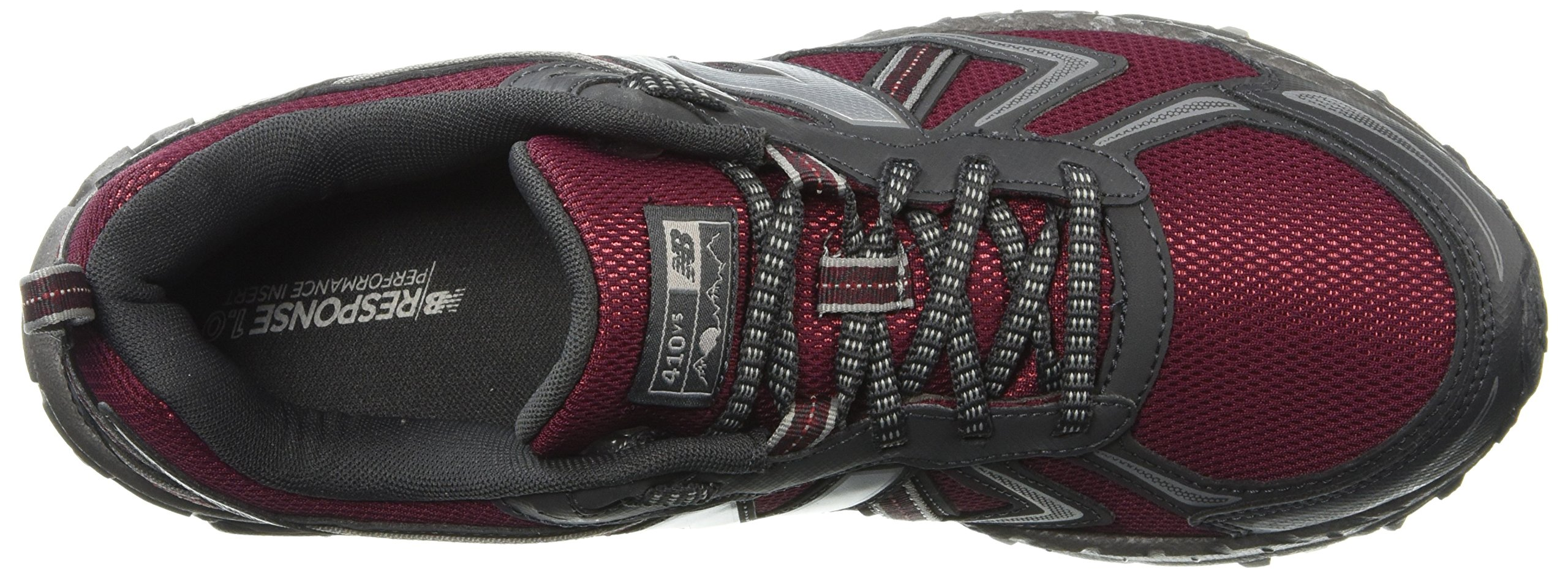 New Balance Men's MT410v5 Cushioning Trail Running Shoe, Oxblood, 7 D US by New Balance (Image #7)