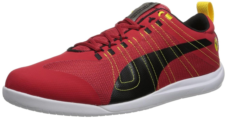 Amazon.com | PUMA Men's Tech Everfit Ferrari 10 Lace-Up Fashion Sneaker |  Fashion Sneakers