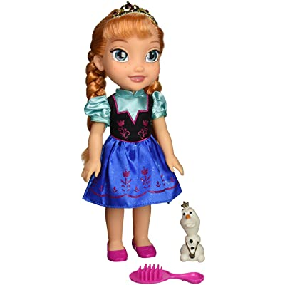 Disney Frozen 31069-1 Toddler Anna Doll with Royal Reflection Eyes: Toys & Games