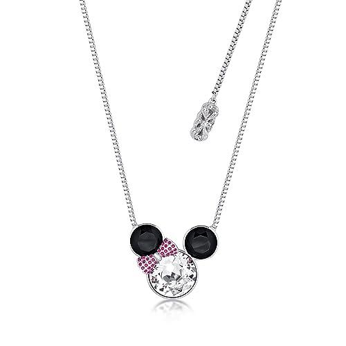negozio online d6f3d 8b9d3 Disney Couture Minnie Mouse Rocks placcato oro bianco ...