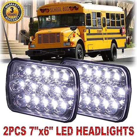 7X6/'/' LED Headlight Hi-Lo Beam Vehicle Working light for International Harvester