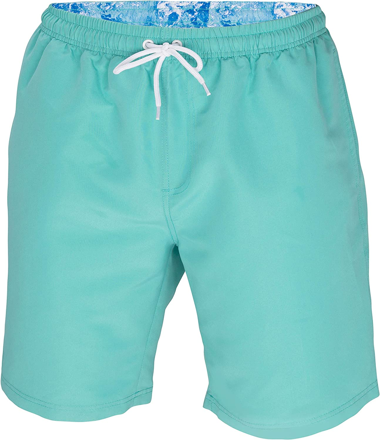 ICE CROSS Men's Swim Trunks - Quick Dry Swim Suit for Men with Pockets and Liner