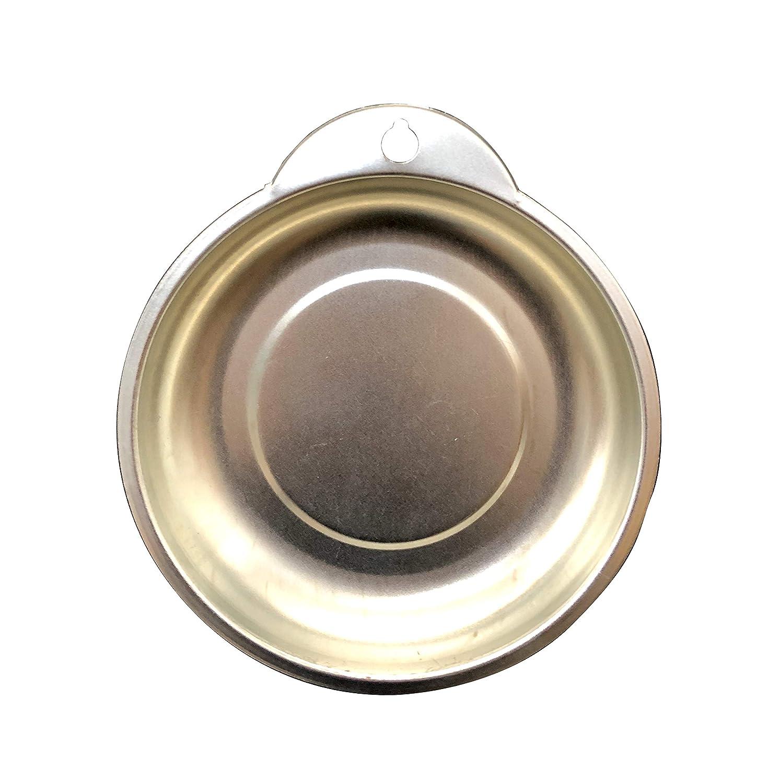 Melchioni Melchioni-4x Magnetplatte f/ür Schrauben und Bulloni-Bacinella Magnet Metall-380045026