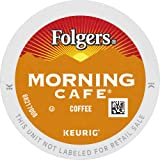 Folgers Morning Café Mild Roast Coffee, 72 K Cups for Keurig Coffee Makers