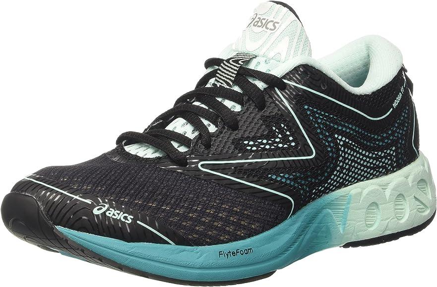 Asics Noosa Ff, Zapatillas de deporte Mujer, Multicolor (Black/Bay/Viridian Green), 36 EU: Amazon.es: Zapatos y complementos