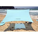 Estivo Sun Shield Beach Shade, Beach shelter, Beach Tent, Sun Shade, Beach Umbrella, Windproof Shade, Picnic Shade, Camping Shade, Back Yard Shade