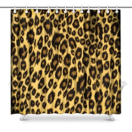 Amazon INTERESTPRINT Brown Leopard Fur Spotted Animal Print