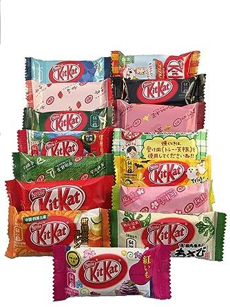 Japanese Kit Kat 16 pcs TONOSAMA selection, ALL DIFFERENT FLAVORS. by TONOSAMA CANDY