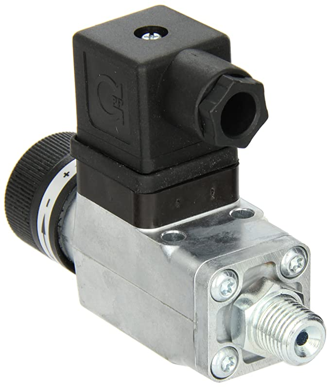 SPDT NOSHOK 200 Series Zinc Plated Steel Compact Mechanical Pressure Switch psi Pressure Range 5000 psi 1//4 NPT Male 150-425