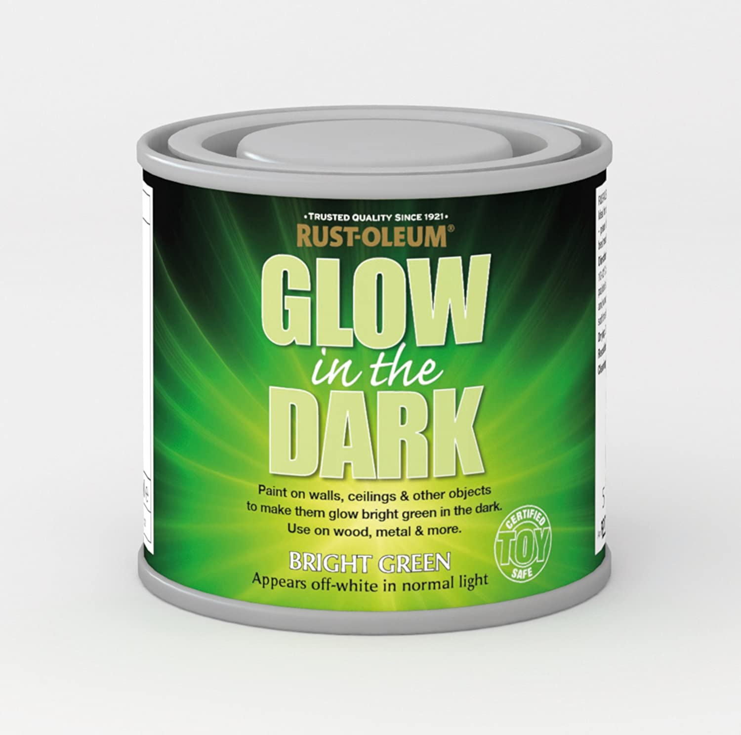 white glow in the dark spray paint the hippest. Black Bedroom Furniture Sets. Home Design Ideas