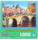 "Autumn in Amsterdam Puzzle 1000 Pieces 27"" X 20"""