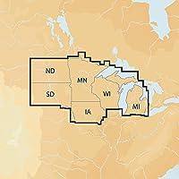 $134 » Navionics Plus Regions North Lake Charts on SD/MSD