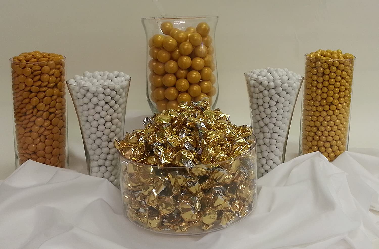 Amazon.com : Gold Candy Buffet Kit Will Serve up to 50 Guests : Grocery &  Gourmet Food - Amazon.com : Gold Candy Buffet Kit Will Serve Up To 50 Guests