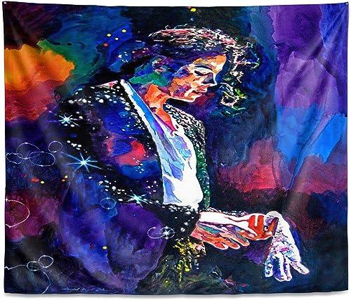 Dia Noche Tapestry Large 104 x88 Wall Art by David Lloyd Glover Final Performance Michael Jackson