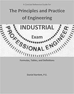 Industrial discipline specific review for the feeit exam 2nd ed a concise reference guide for the principles and practice of engineering industrial exam by daniel bartlett fandeluxe Images