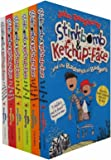 Stinkbomb and Ketchup-Face Series John Dougherty Collection 6 Books Bundle