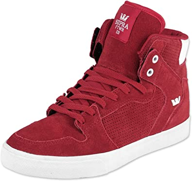 NIB Supra Vaider Men/'s Hi-Top Skate Boarding Shoe Rose//Gold-LT Gum