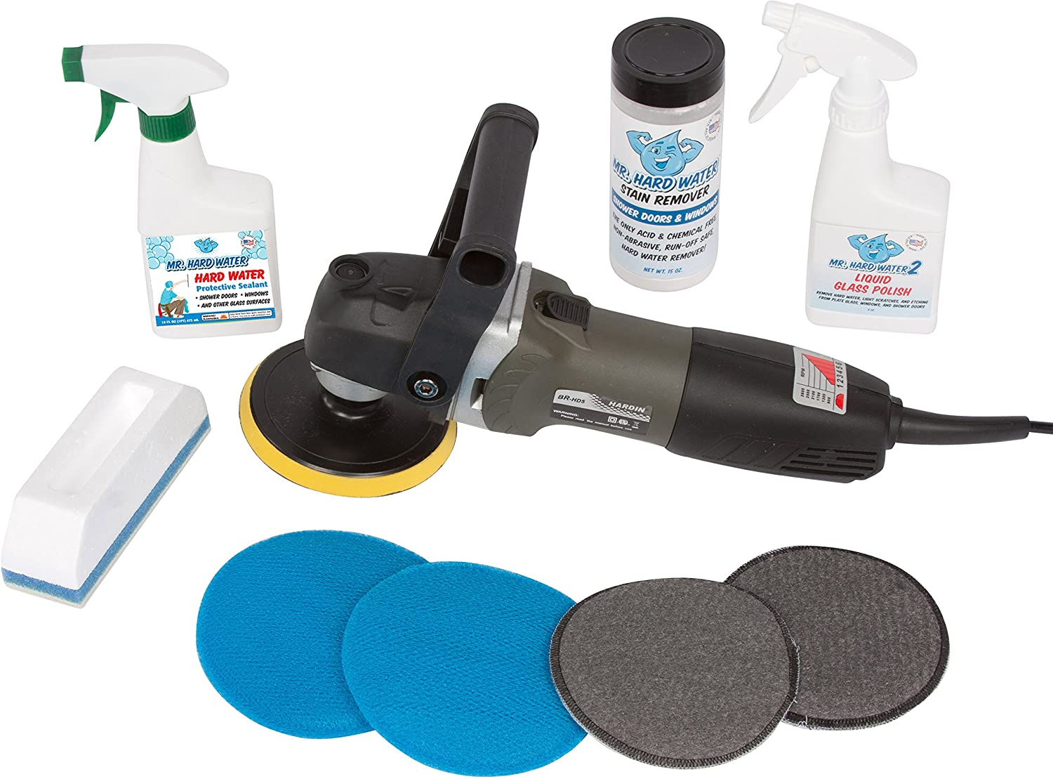 Amazon mr hard water pro glass and window cleaning and amazon mr hard water pro glass and window cleaning and polishing kit health personal care eventelaan Gallery