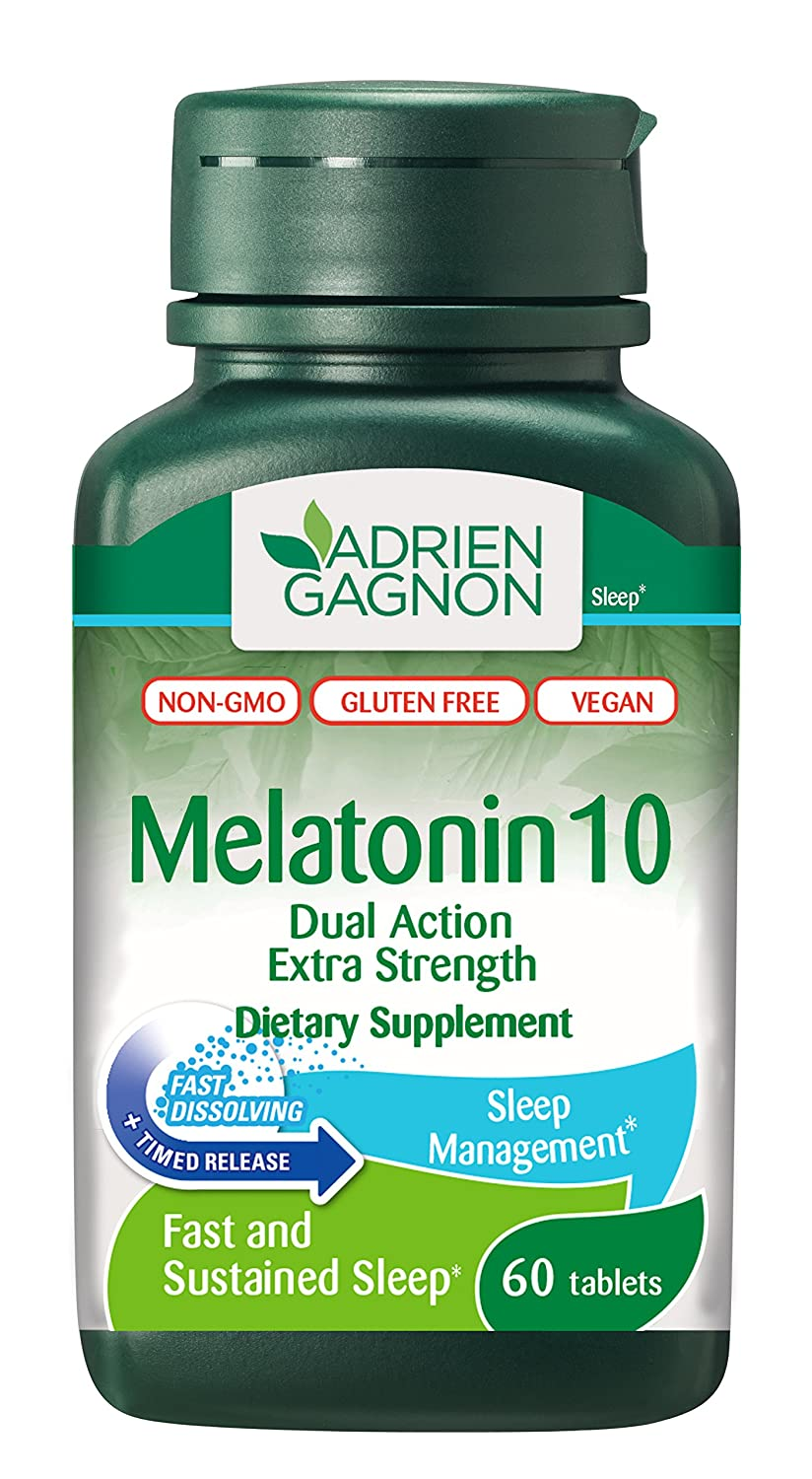 Amazon.com: Adrien Gagnon – Melatonina (extra-strength doble ...