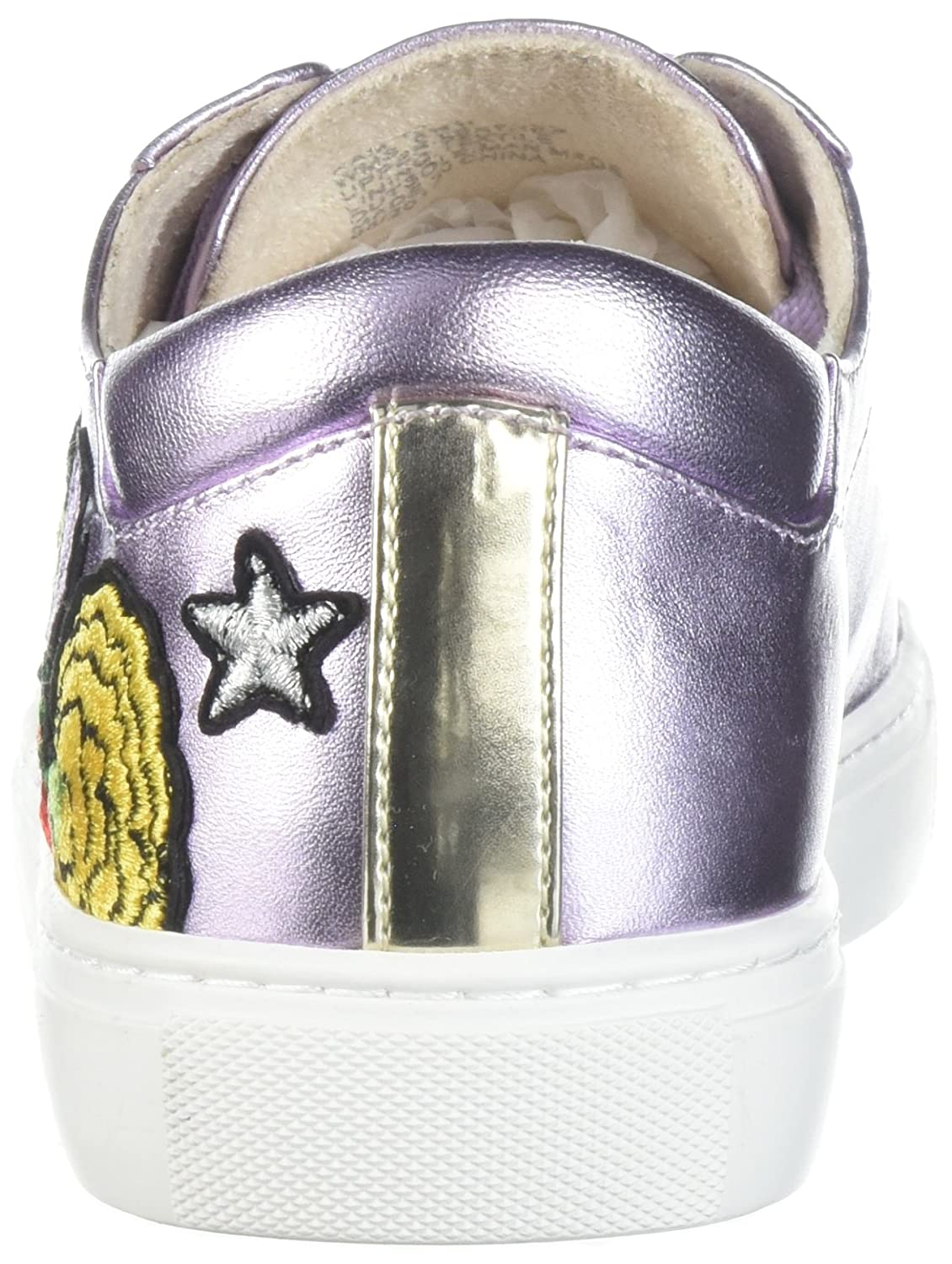 Kenneth Cole New York Women's Kam 10 Floral Embroidered Lace-up Sneaker B077ZL4RJ4 8.5 M US|Lavender