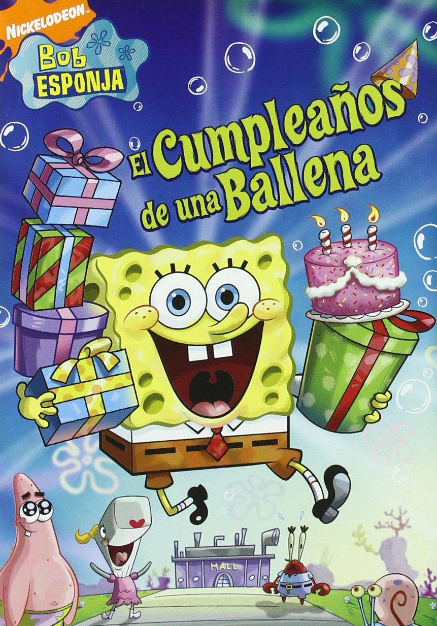 Bob Esponja Cumpleaños De Una Ballena [DVD]: Amazon.es ...