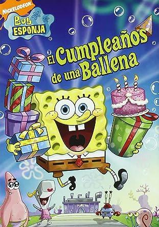 Amazon.com: Bob Esponja Cumpleaños De Una Ballena (Import ...
