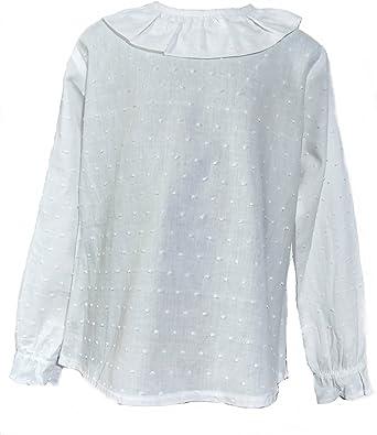 Camisa de Niñas 100% Algodón |Tallas Entre 3 y 10 Años | Blusas de ...