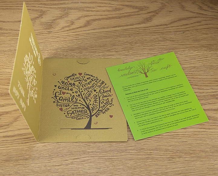 BETEVE Colgante de árbol de la Vida, Regalo Espiritual, Amatista ...