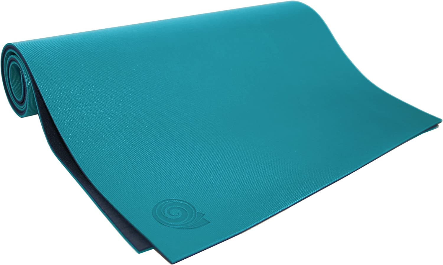 Koru Fold and Roll Premium Yoga Mat – Patented Design, Cleaner Alternative to Traditional Yoga Mats, 6mm Extra Thick, 24 x 68