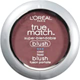 L'Oreal Paris True Match Super-Blendable Blush, Spiced Plum, 0.21 oz.