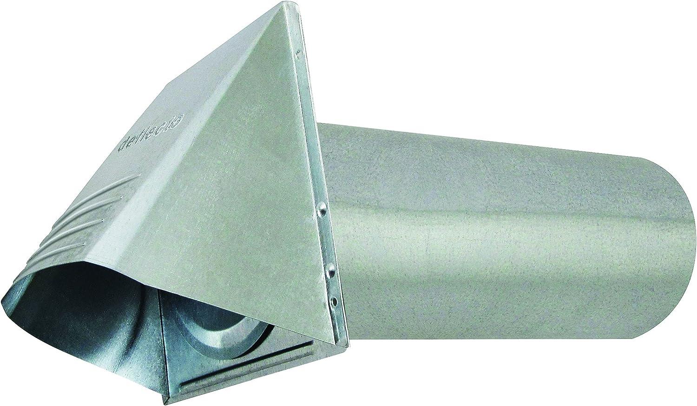 """Deflecto Dryer Vent, Silver, 4"""" (GVH4NR)"""