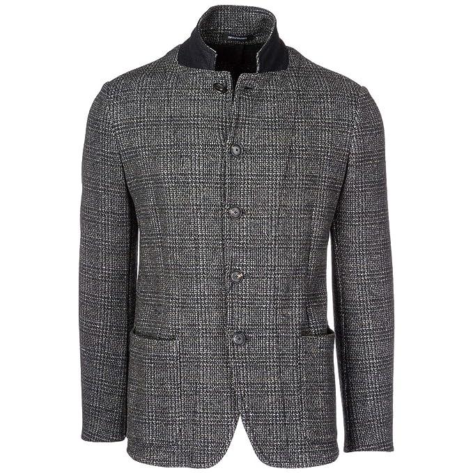 Emporio Armani cazadoras hombres americana chaqueta nuevo gris EU 50 (UK 40) 11G51S11S34: Amazon.es: Ropa y accesorios