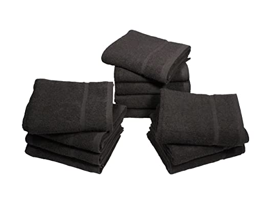 Peluquería toallas de mano, 12 unidades resistente al Bleach ...