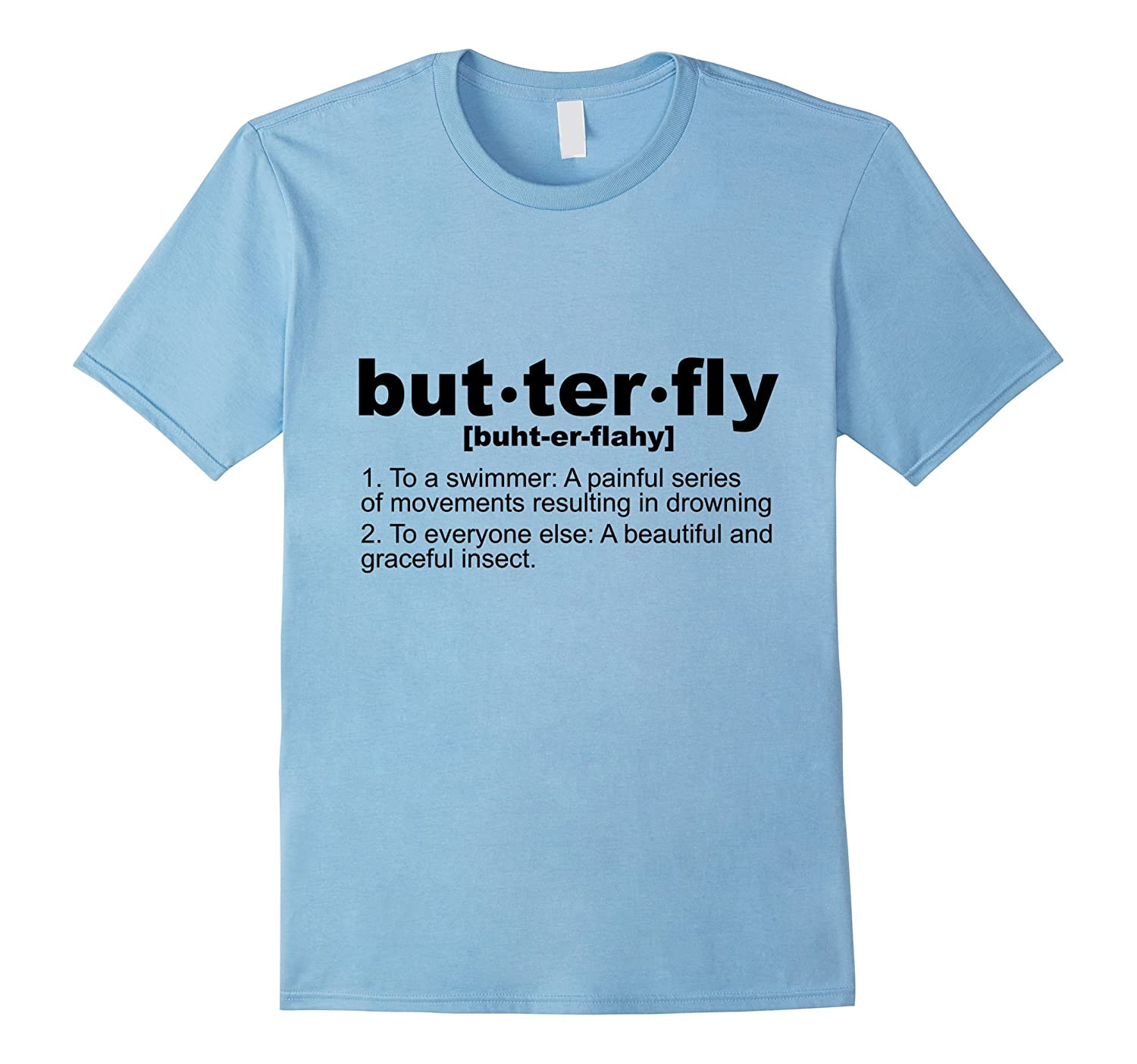 Butterfly is Death! Swimming T-Shirt-TH