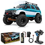 1:10 Scale Large Rock RC Crawler - 4WD Off Road RC Cars - Remote Control Car 4x4 Electric Truck – Hobby Grade IPX5 Waterproof
